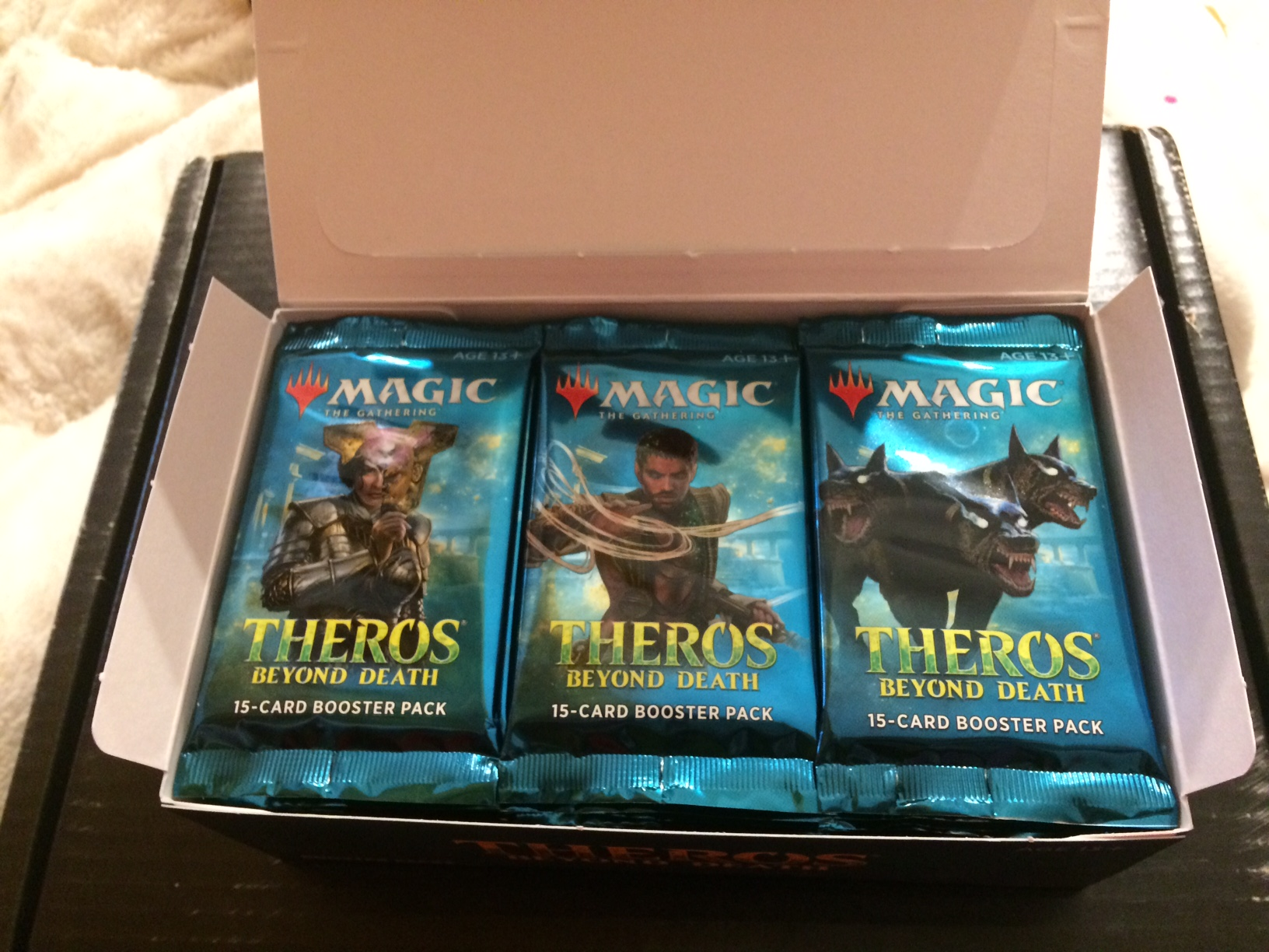 "Review: ""Theros: Beyond Death"" Booster Box - ""Magic: The Gathering"""