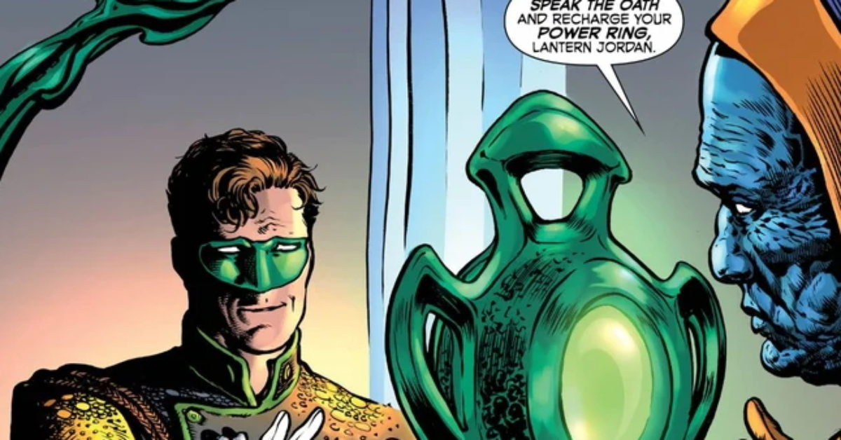 Hal Jordan Gets New Powers In The Green Lantern Season Two #1 (of 8)