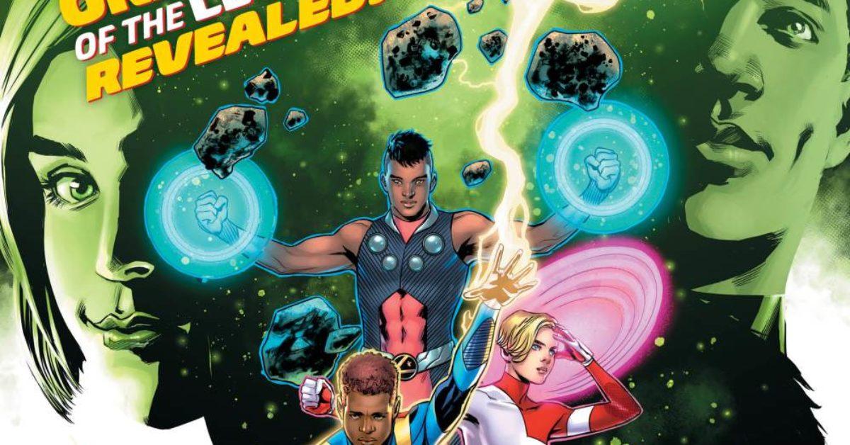 The Secret Origin of the Legion in Legion of Super-Heroes #4 [Preview]