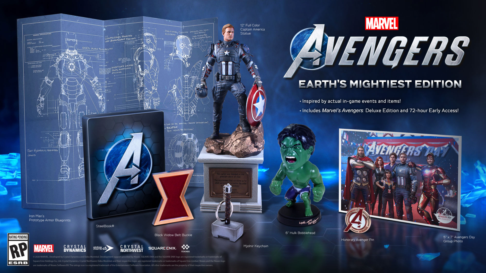 "Square Enix Reveals Details For ""Marvel's Avengers"" Deluxe Edition"