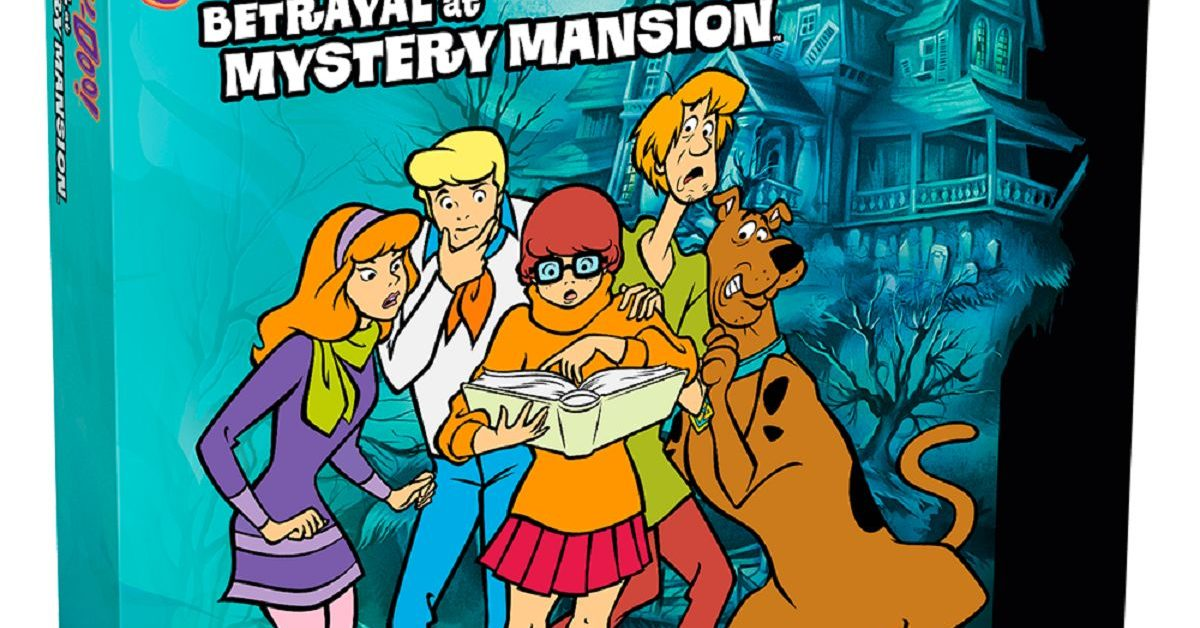 Avalon Hill Announces Scooby Doo Betrayal At Mystery Mansion
