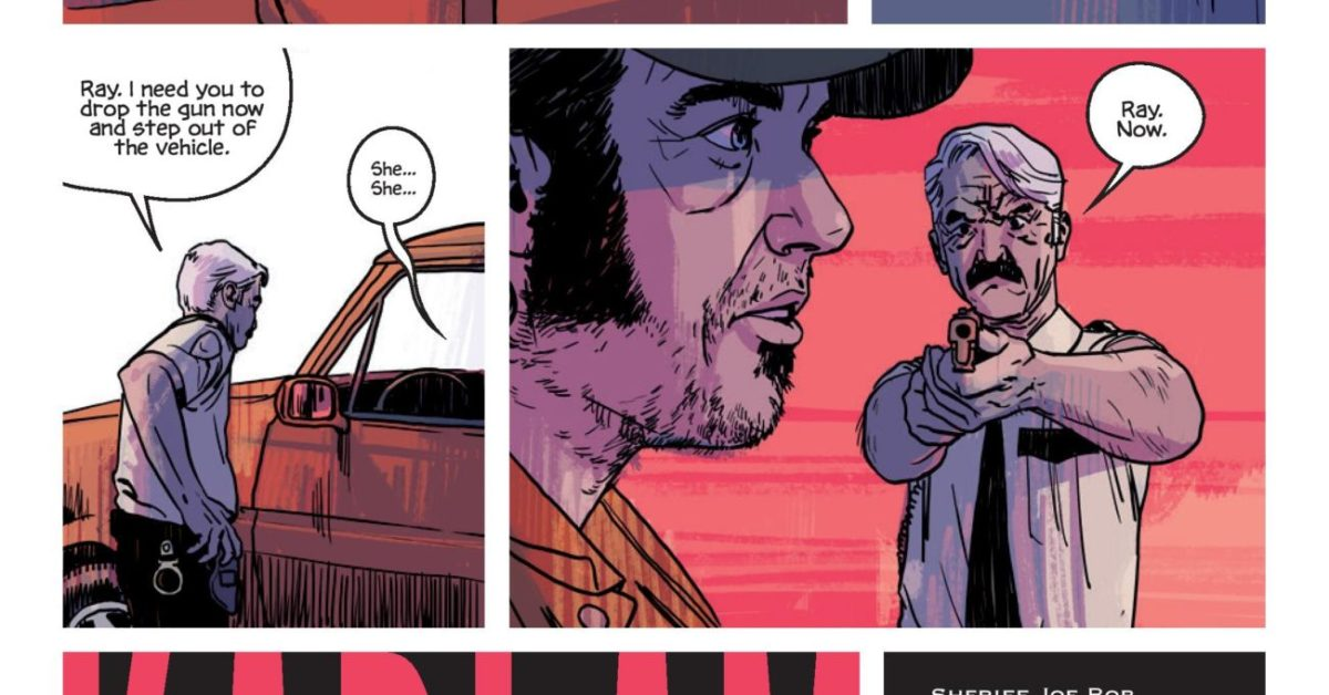 Jacob Phillips' First Ongoing Series as Artist, That Texas Blood With Chris Condon From Image in May, Previewed
