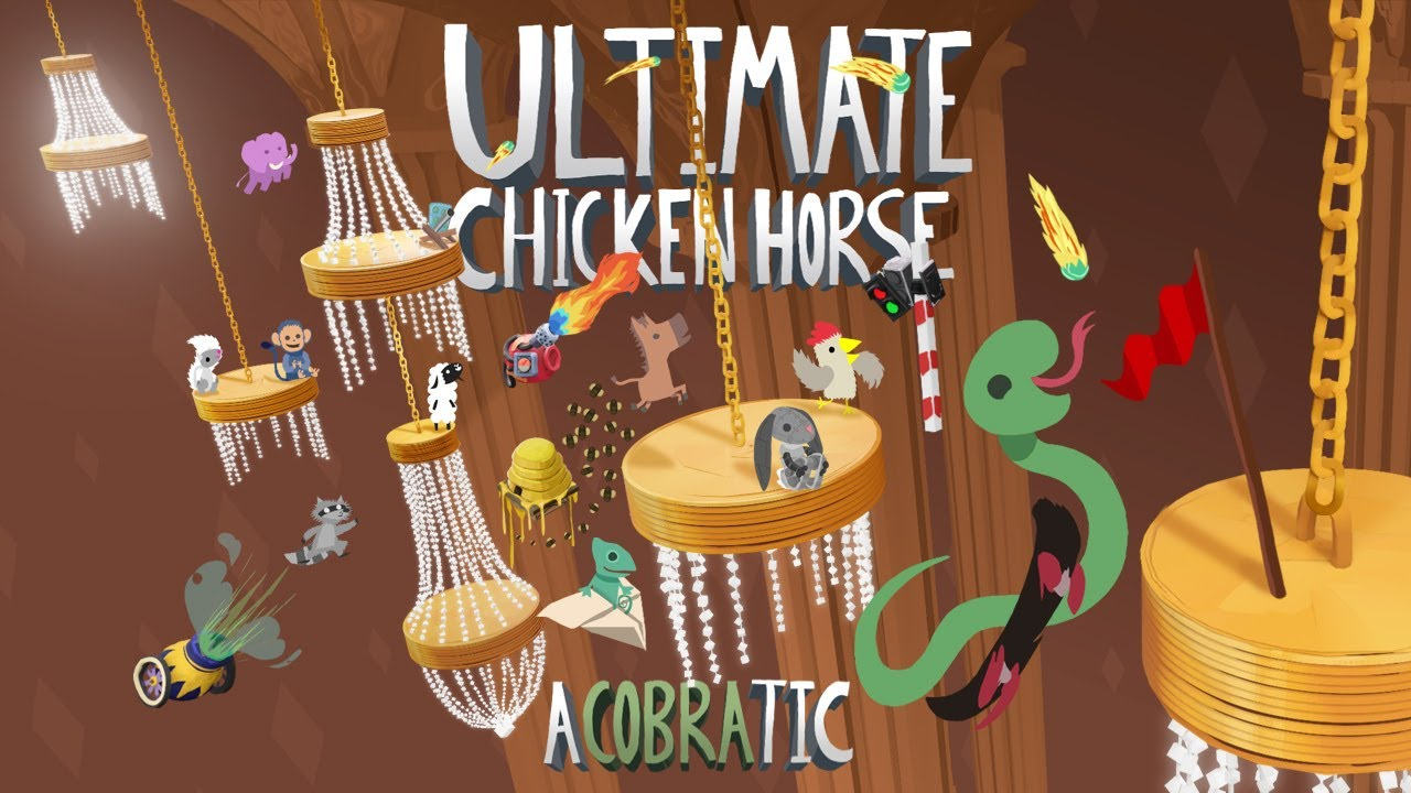 """""""Ultimate Chicken Horse"""" Receives A New Cobra-Themed Update"""