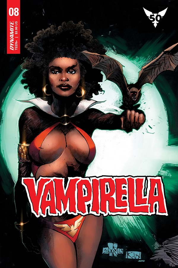Extended Preview of Tomorrow's Vampirella #8
