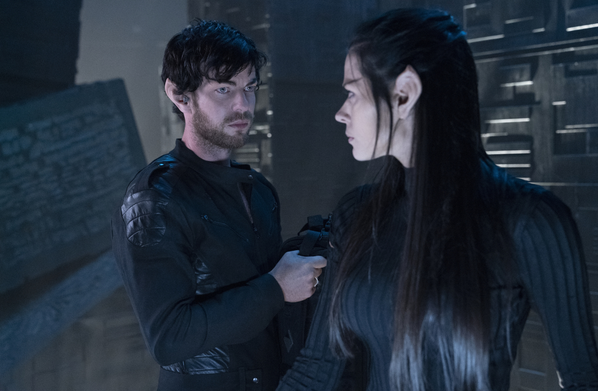 Star Trek: Picard - Harry Treadaway and Peyton List as Narek and Narissa