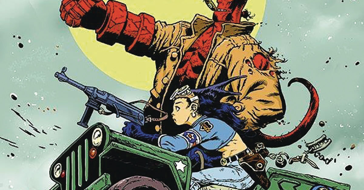 Mike Mignola's Hellboy Crosses Over With Steve Mannion's Fearless Dawn