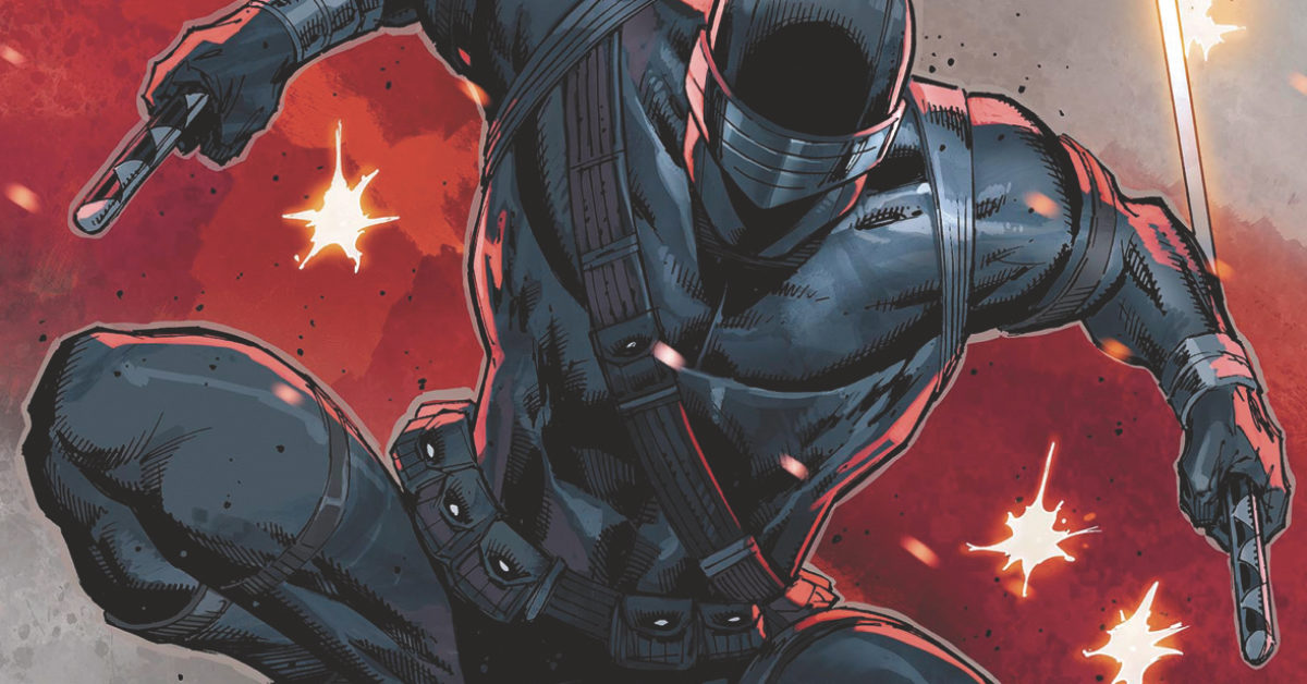 Rob Liefeld's GI Joe: Snake Eyes and TMNT Annual Come to IDW June 2020 Solicitations
