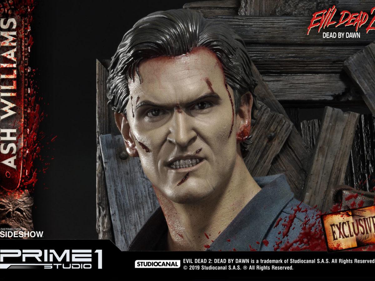 Evil Dead Ash Williams Is Back With Prime 1 Studio