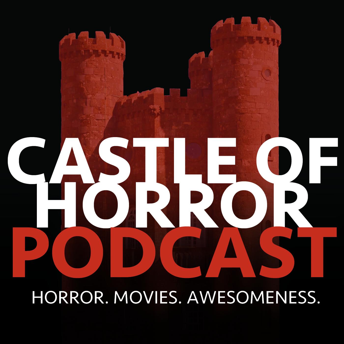 Castle of Horror Podcast Logo