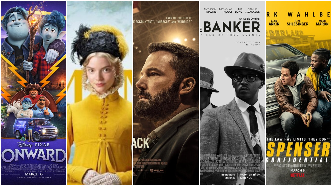 Opening This Week: Onward, Emma, The Way Back, Spenser Confidential, and More!