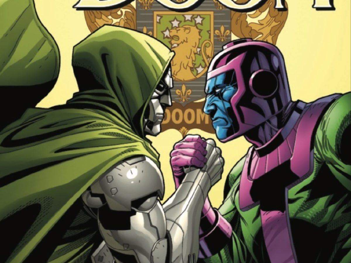 Doctor Doom and Kang the Conqueror Become Train Hobos in Doctor Doom #6 [Preview]