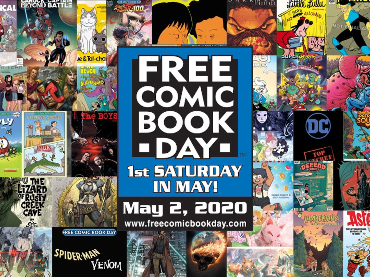 Free Comic Book Day is 'Full Steam Ahead' For 2020, Despite ...