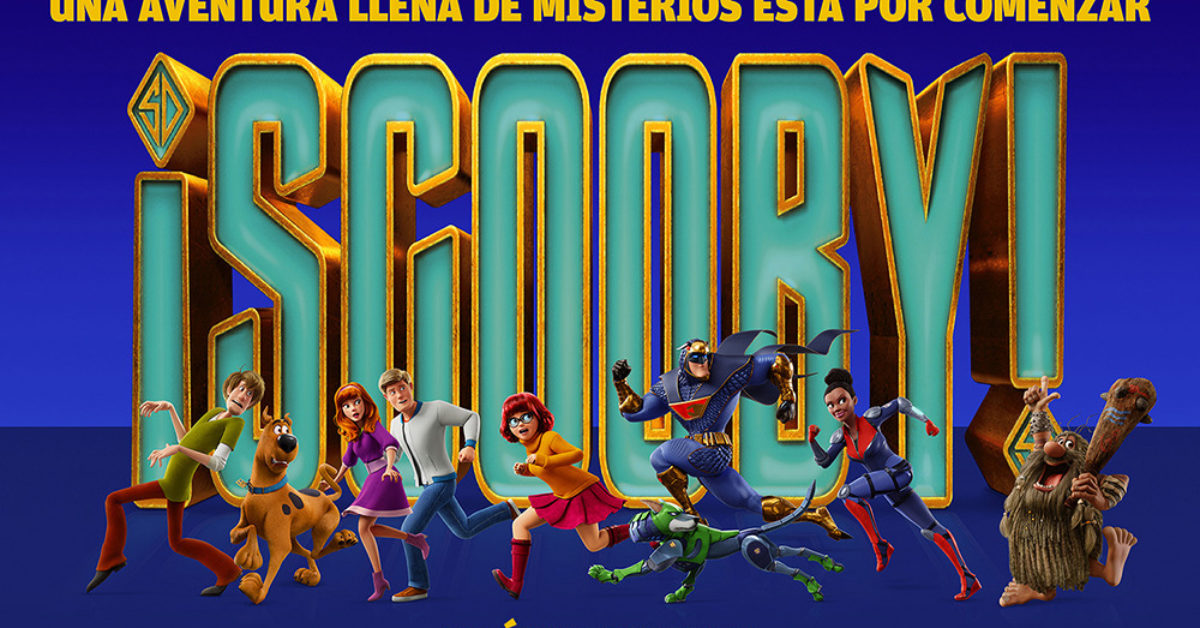 'Scoob!': Another International Poster Adds Captain Caveman