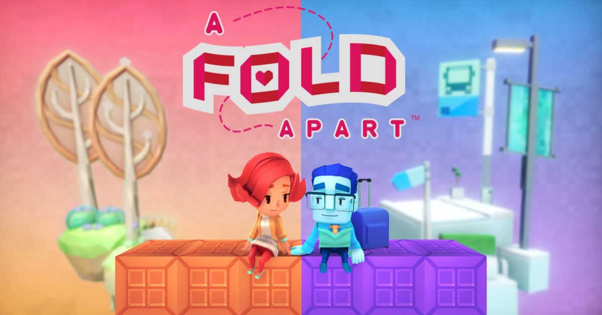 Apple Releases A Fold Apart & Beyond Blue For Apple Arcade Today
