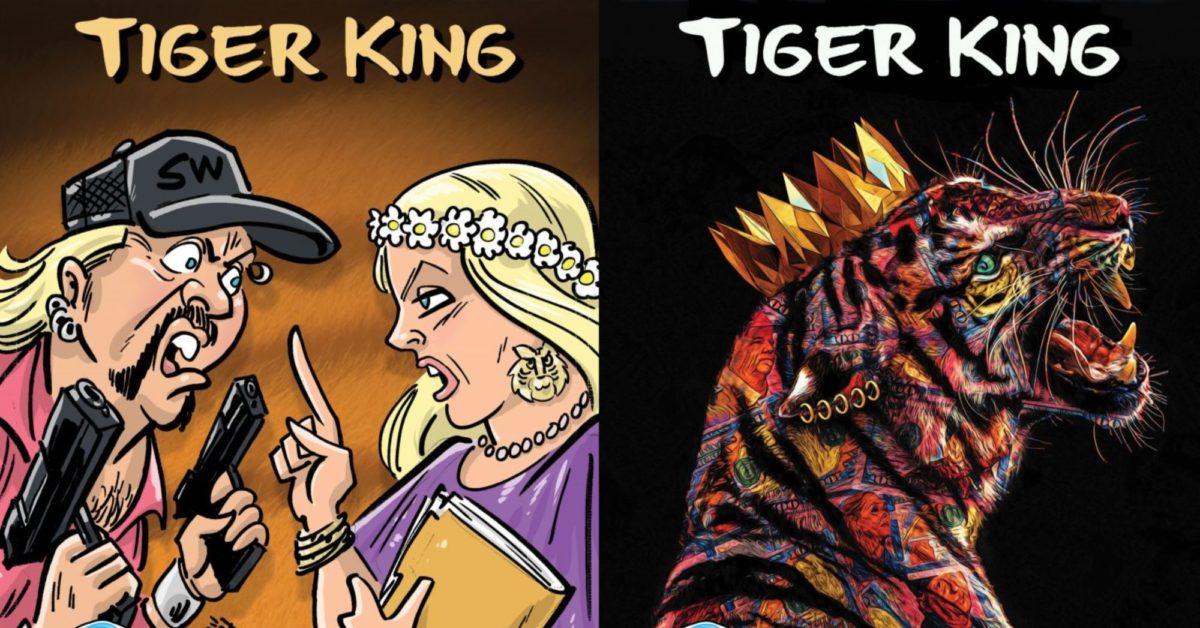 Metal Worx Inc >> The Tiger King Comic, Joe Exotic and Carole Baskin on ...