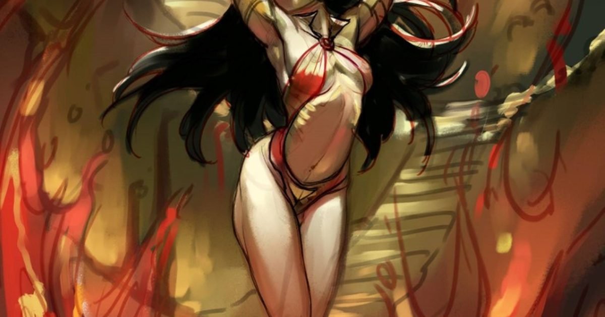 Meghan Hetrick Live Tonight, Painting Vampirella Covers For Dynamite