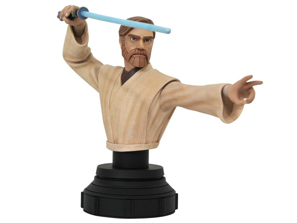 Star Wars The Clone Wars Gets New Statues from Diamond Select