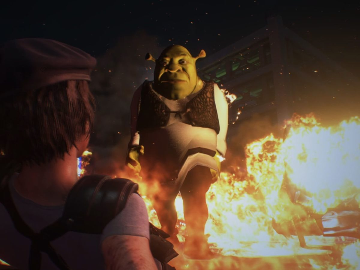 New Resident Evil 3 Mod Replaces Nemesis With Uh Shrek