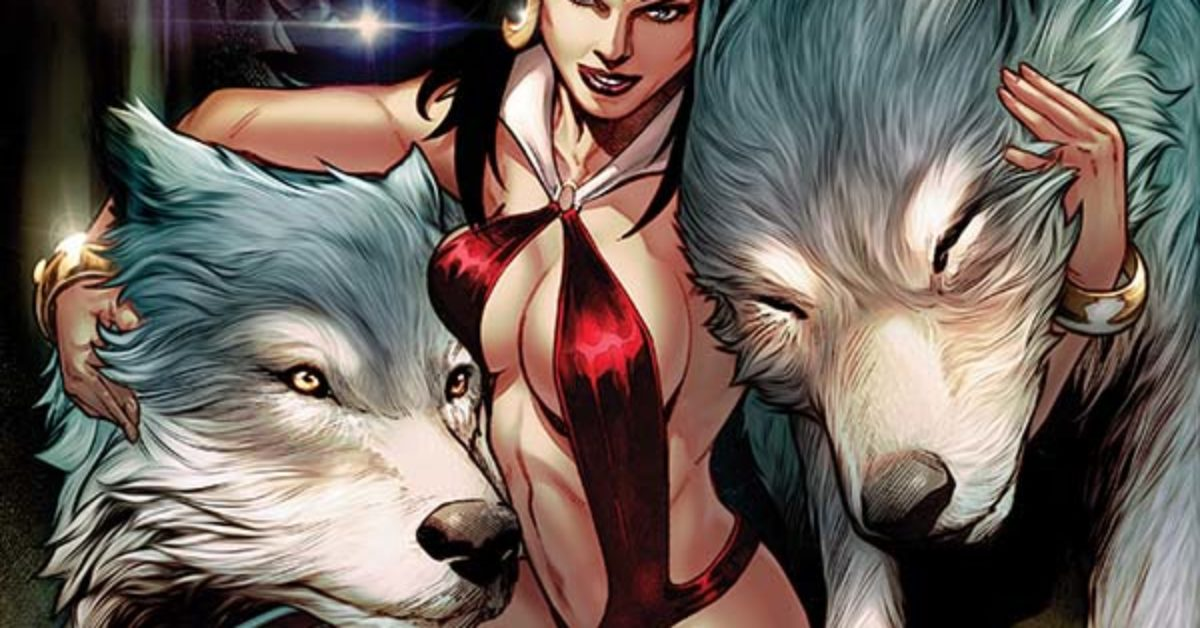 Exclusive Preview of Vengeance of Vampirella #7, More From Dynamite
