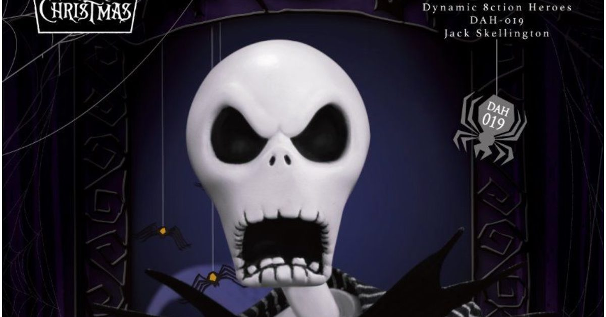 Nightmare Before Christmas Jack Goes Dynamic with Beast Kingdom