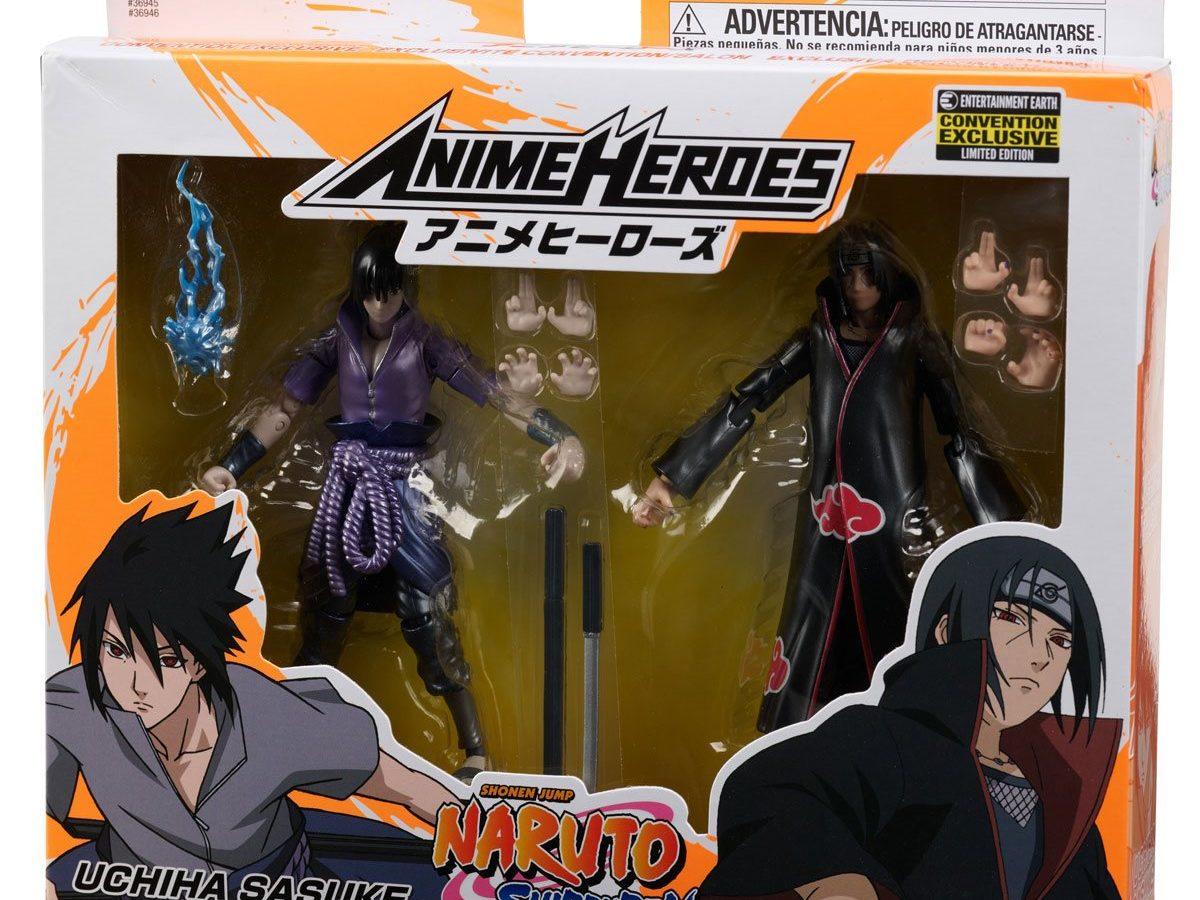 2020 16cm Naruto Shippuden Uchiha Sasuke/&Uchiha Itachi 2pcs//set New PVC Figure