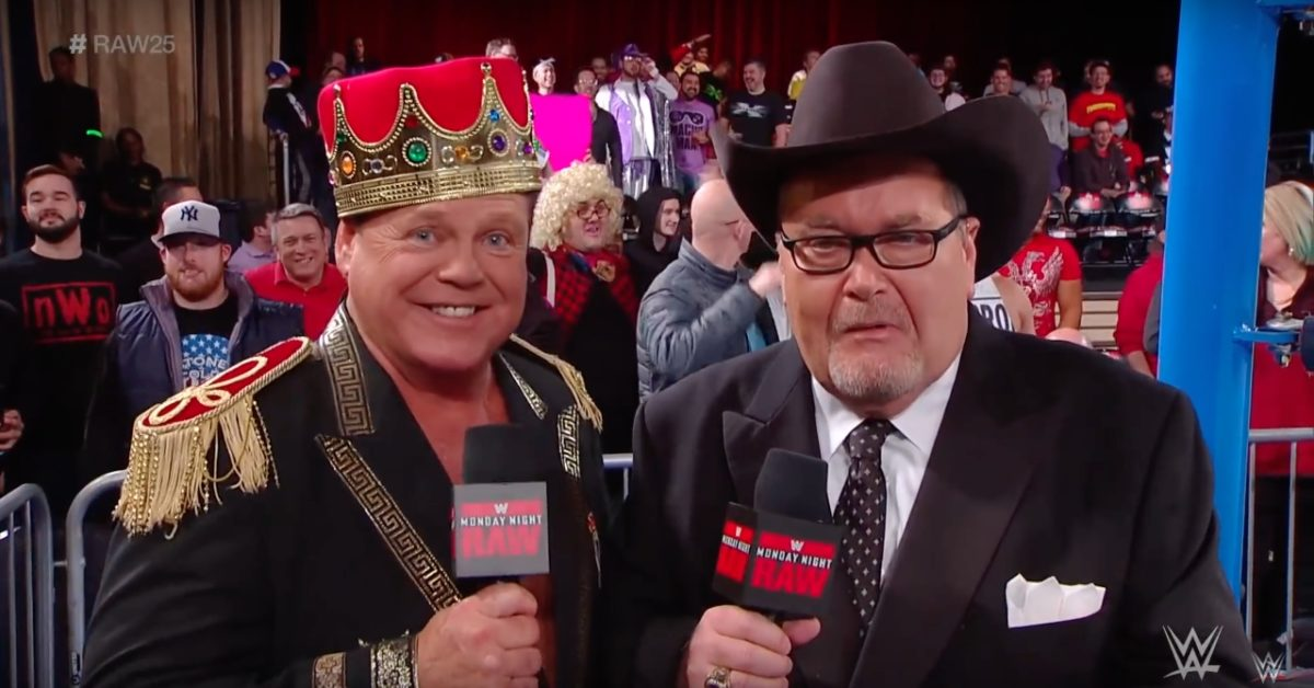 AEW's Jim Ross Catches Twitter Heat for Being Horny on Main