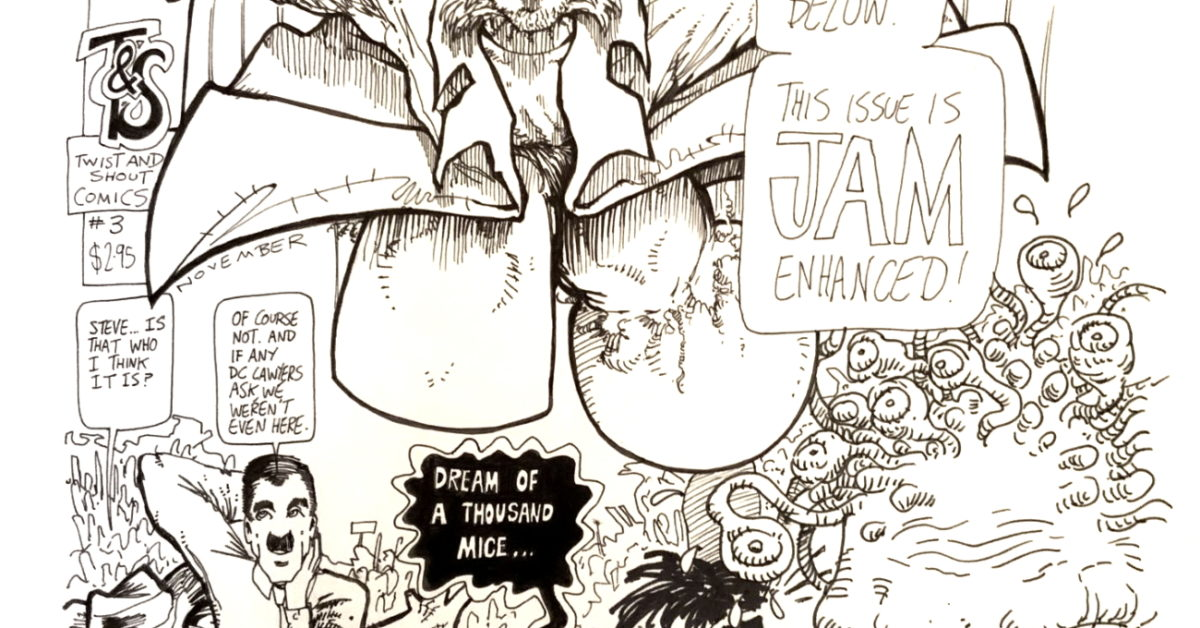Neil Gaiman Original Cover Artwork Auction for #ComicWritersChallenge