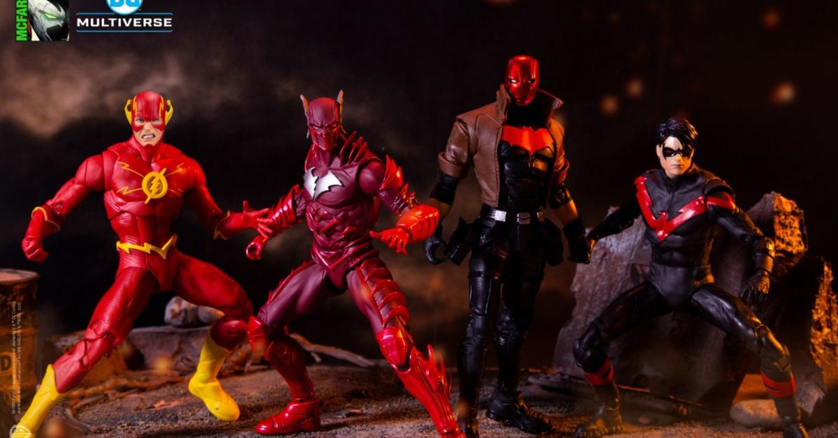 McFarlane Toys DC Multiverse - Flashpoint, Red Hood, Teen Titans
