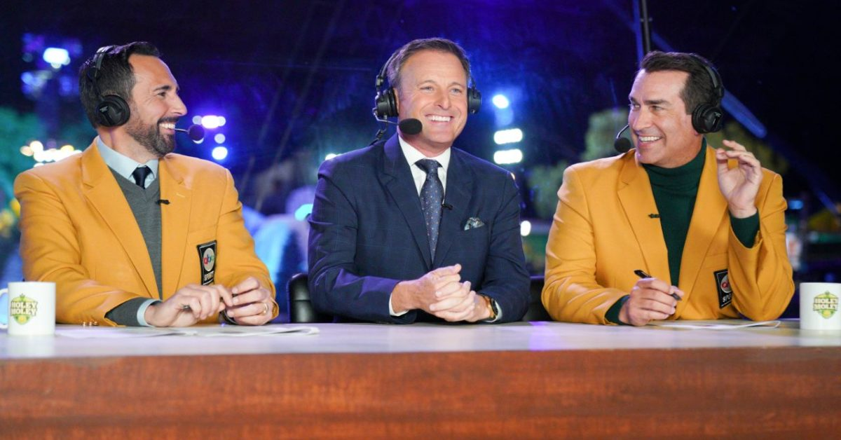 Holey Moley II: The Bachelor Host Chris Harrison Joins the Lovefest