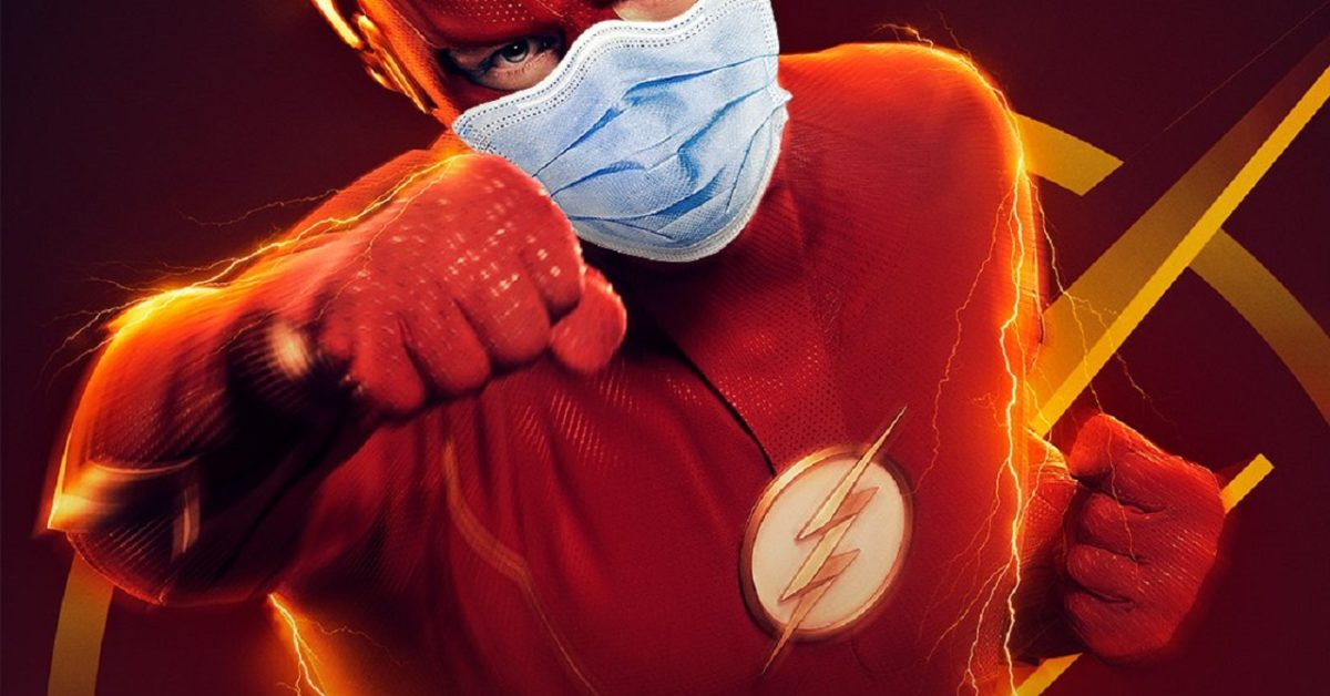The Flash, Supergirl, Black Lightning, Stargirl, and Arrow Go Pro-Mask