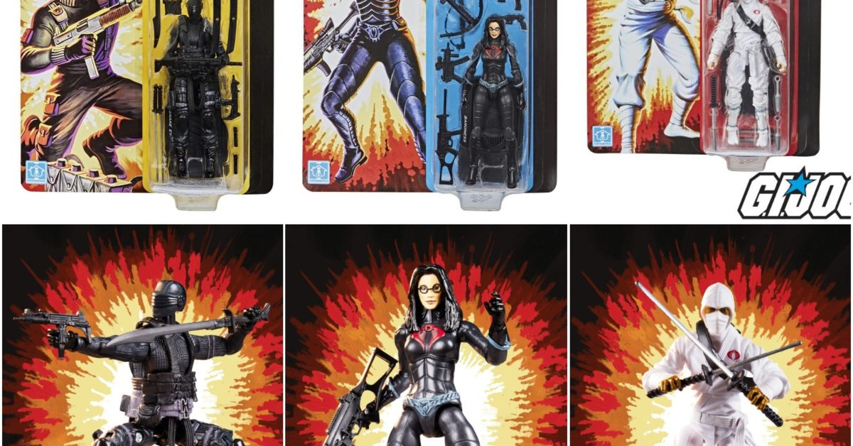 Hasbro  G.I Joe Retro Collection Snake Eyes Figure on Hand Ready to ship