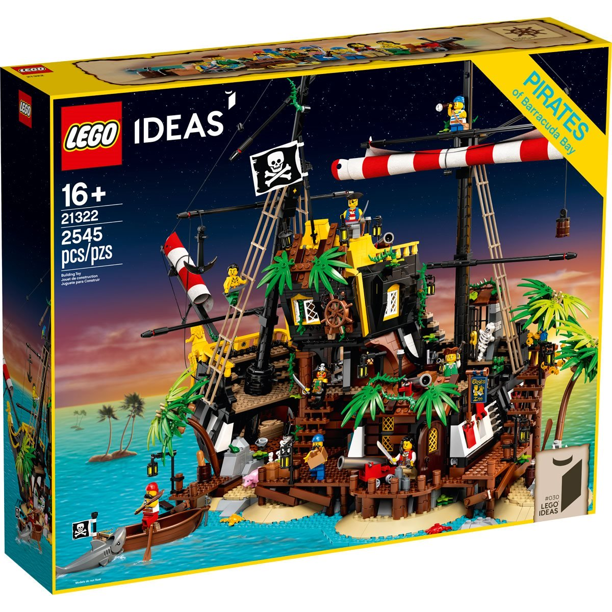 Sail the Seven Seas With the Pirates of Barracuda Bay LEGO Set