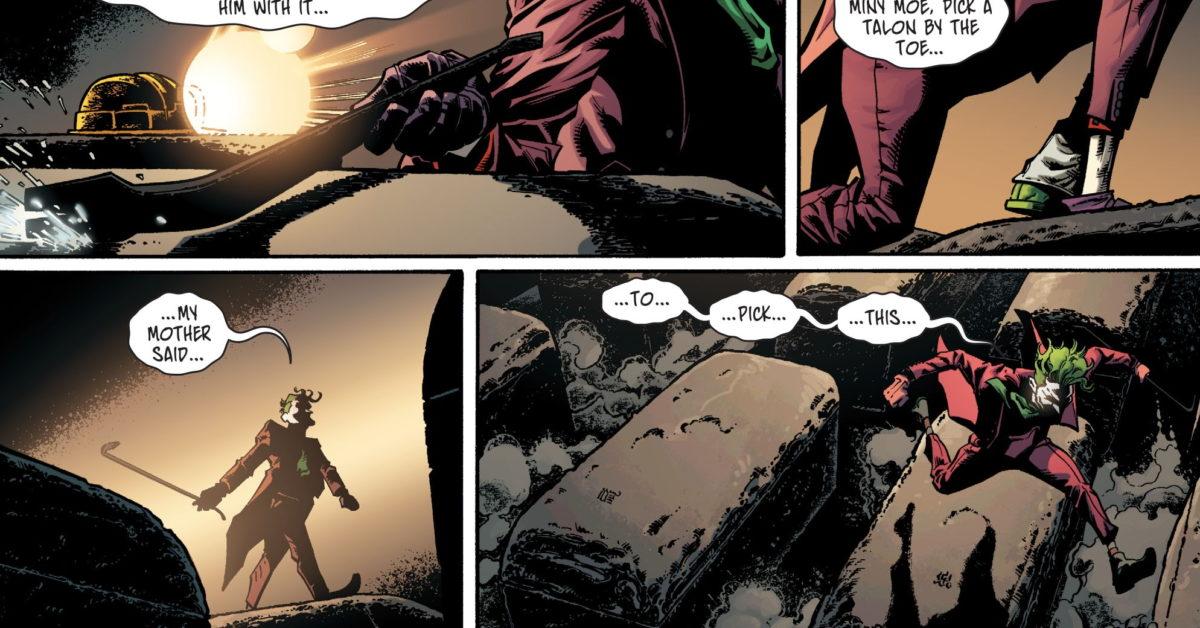 The Joker Revives Eeny Meeny Miny Moe in Detective Comics #1023