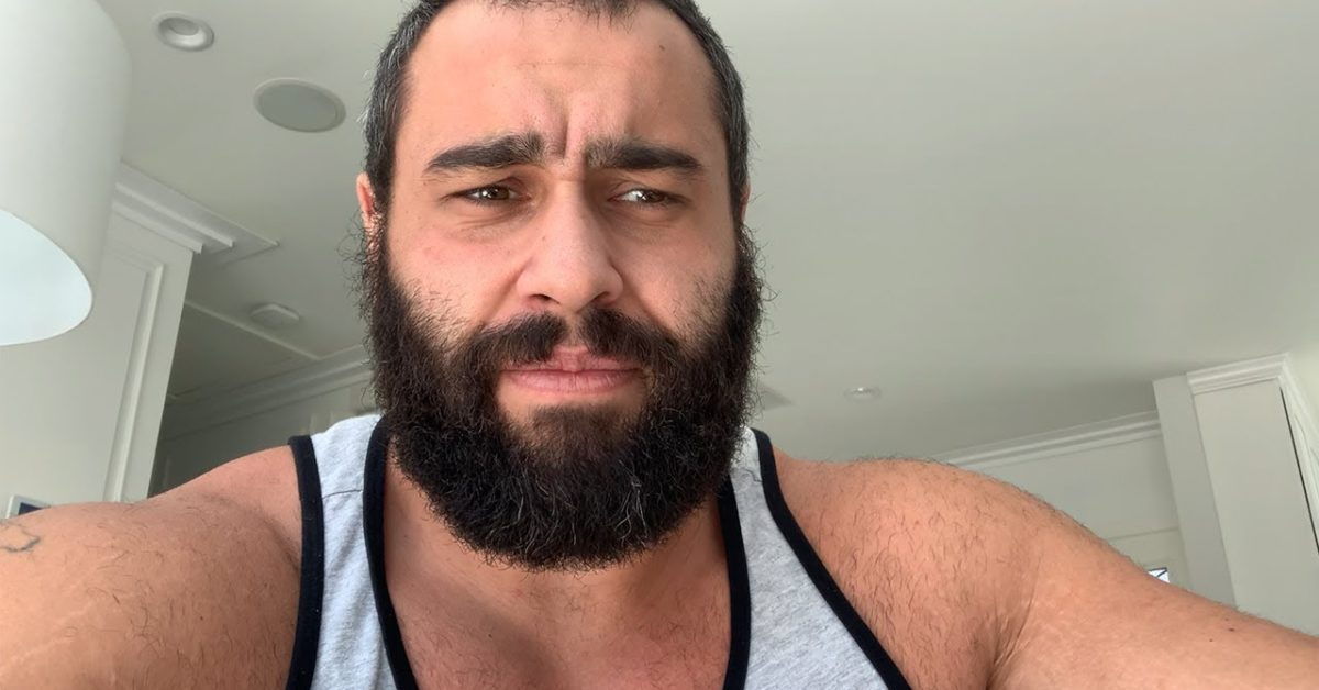 Former WWE Star Rusev Confirms He's Tested Positive for COVID-19