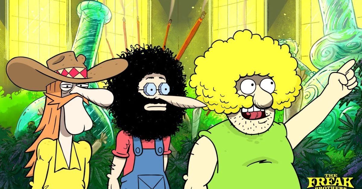 The Freak Brothers Tackle Ryan Seacrest's Land of Green Imagination
