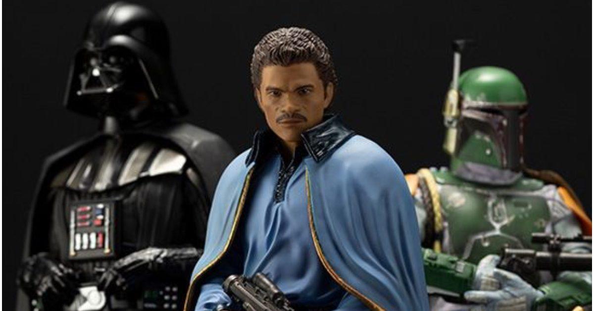Star Wars Lando Calrissian Smuggles His Way Into Kotobukiya