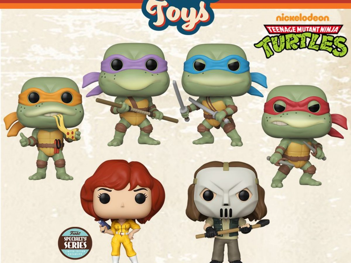 Funko Announces New Teenage Mutant Ninja Turtle Pop Vinyls