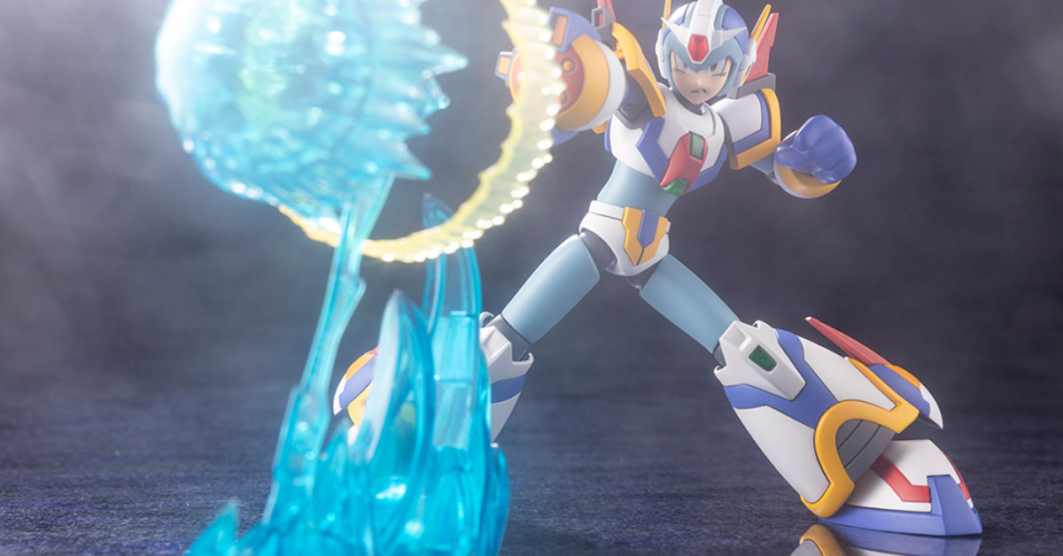 Mega Man X with Force Armor Gets New Model from Kotobukiya