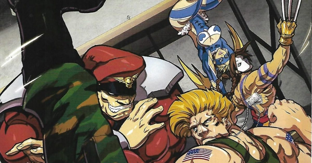 Obscure Comics: Street Fighter Hyper Looting Crate
