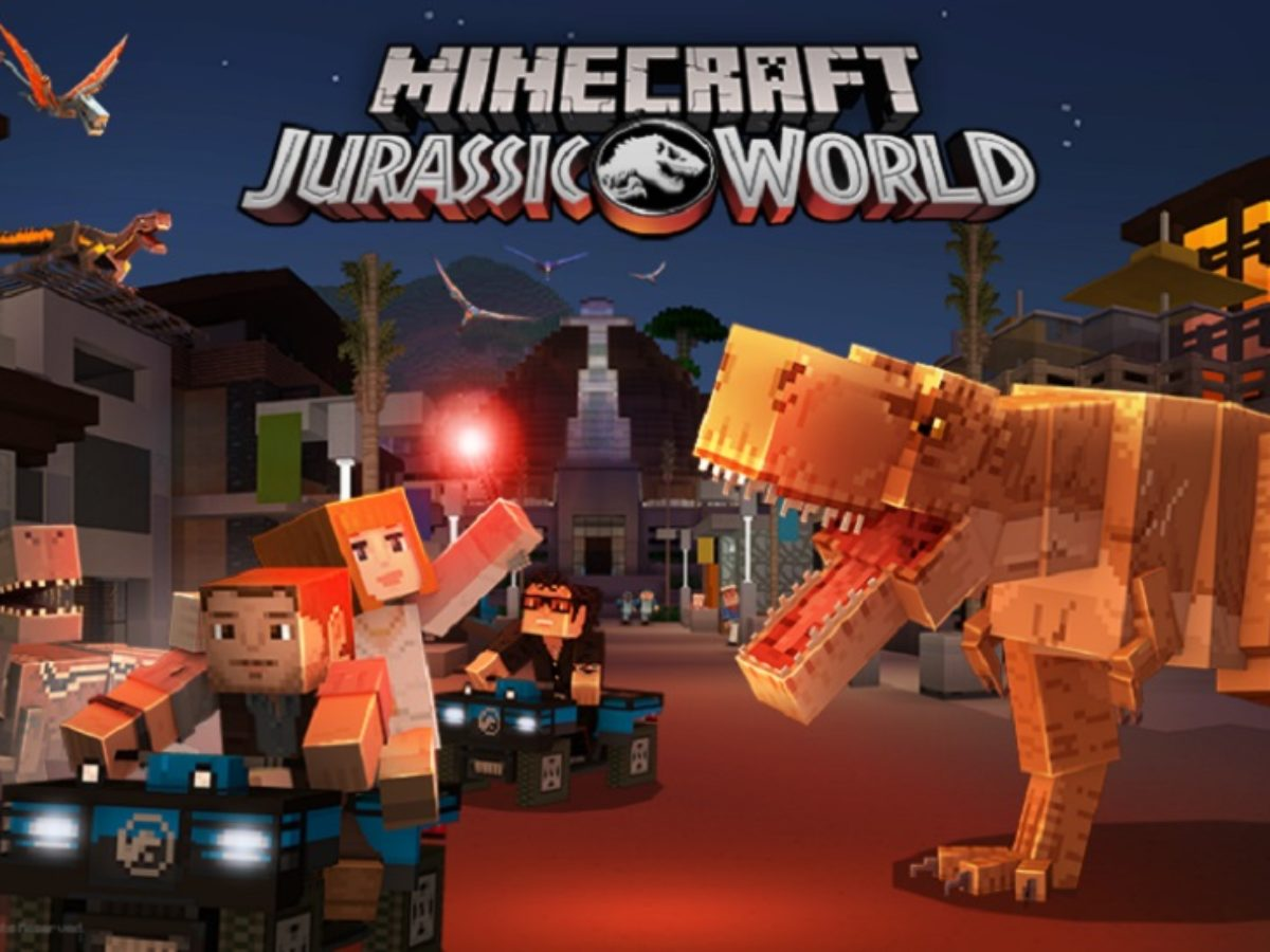Jurassic World Has Officially Invaded Minecraft In Latest Dlc