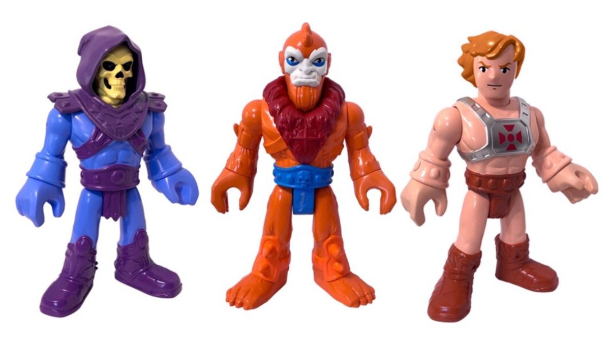 Fisher-Price Little People Collector Set Masters of The Universe New for 2020