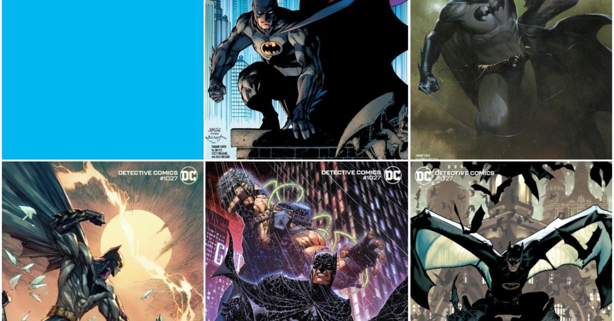 Jim Lee, Marc Silvestri, Adam Hughes Cover Detective Comics #1027