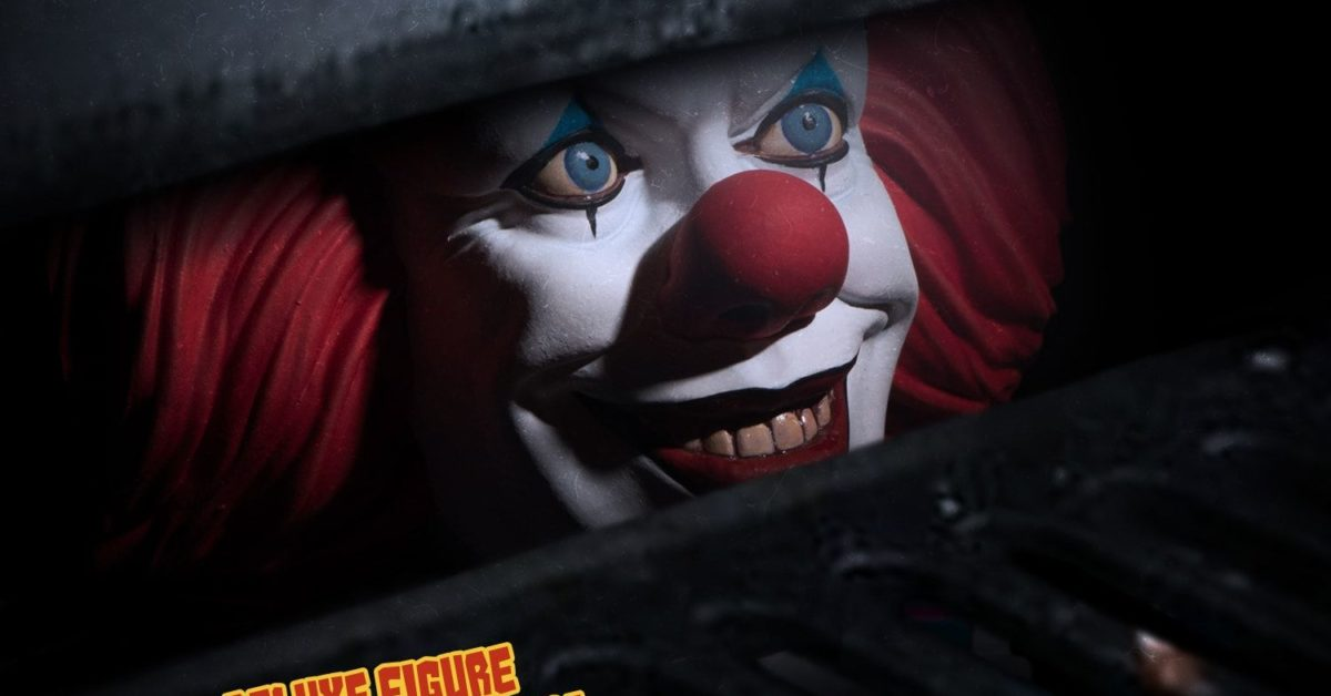 Original Pennywise is Back with New Mezco Toyz Deluxe Figure