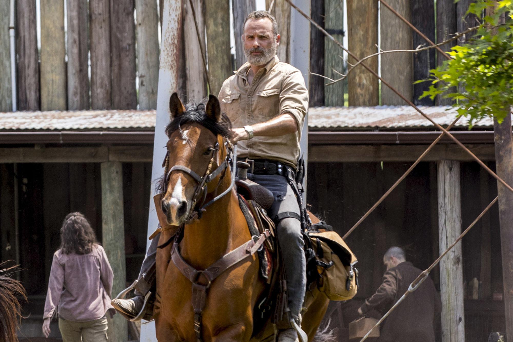 The Walking Dead Unearths Season 9 Portraits: Rick, Michonne & More