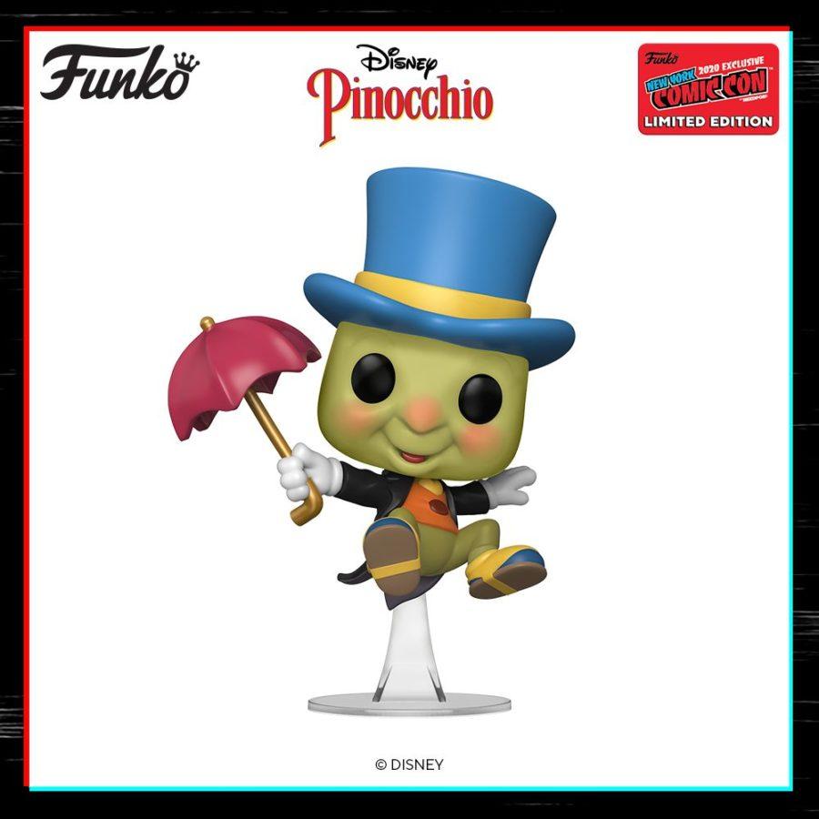 Lilo /& Stitch Chef Stitch NYCC 2020 Exclusive Pop Vinyl Figure #978