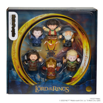 Fisher-Price Little People Collector Sets LOTR and Elf Revealed