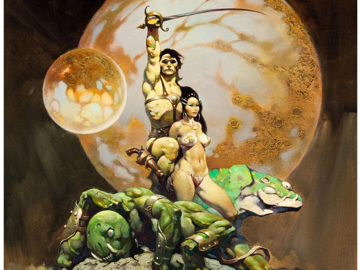 Frank Frazetta's Princess Of Mars - Will It Hit A Million at Auction?