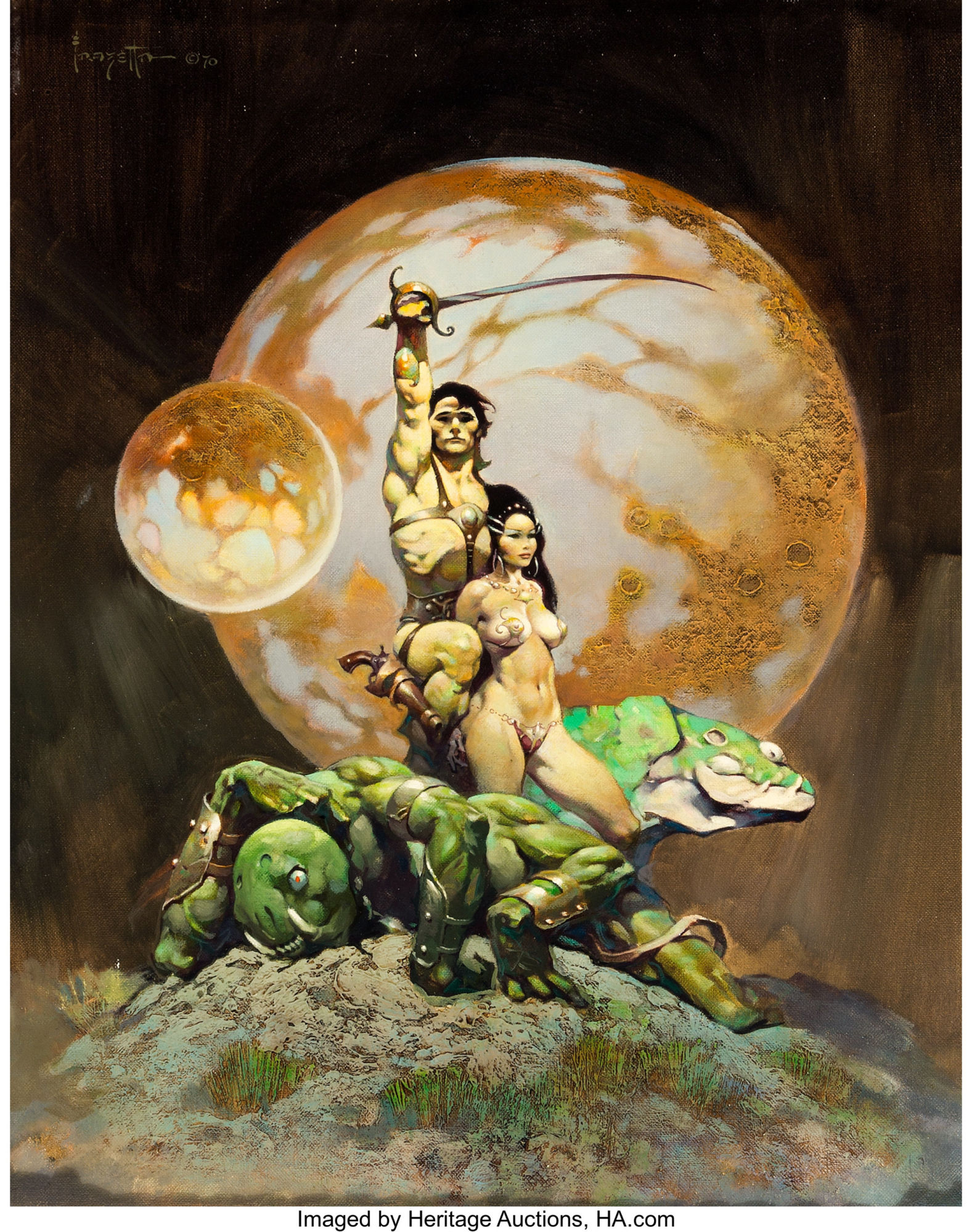 Frank Frazetta's Princess Of Mars – Will It Hit A Million at Auction?