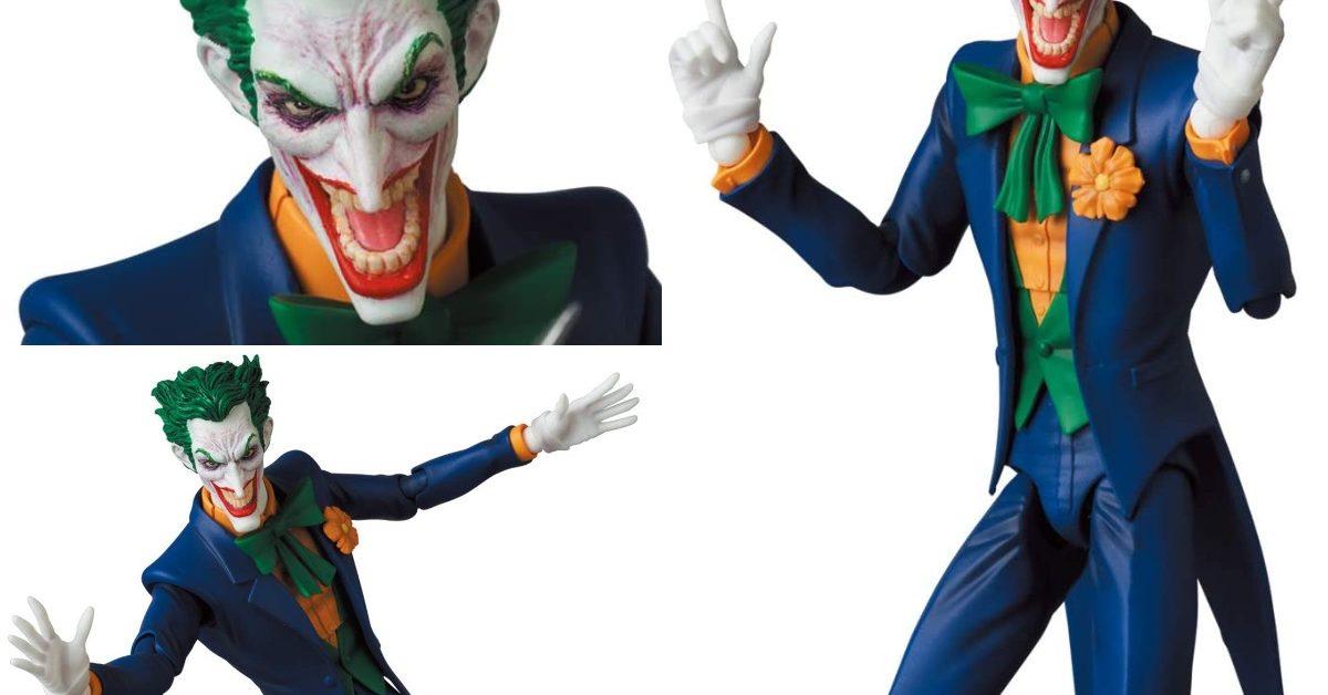 Joker Creates Chaos With New Batman Hush Figure From Medicom Flipboard