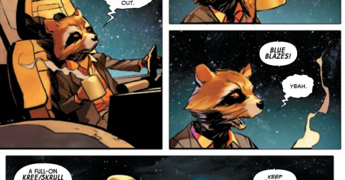 Did Rocket Raccoon Read A Different Empyre Ending To The Rest Of Us?